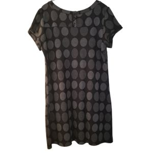 En Focus big polka dot midi dress size 18